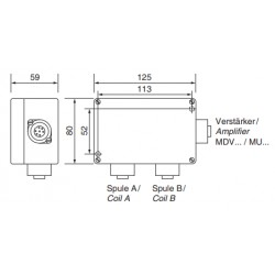 MA 125 accessories metal detector