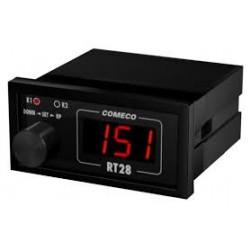 RT28U kontroller, 12-24AC/DC, relee 2xNO/NC, 96x48mm, pöördnupuga, IP54/20