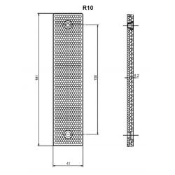 R10 40x180mm reflector