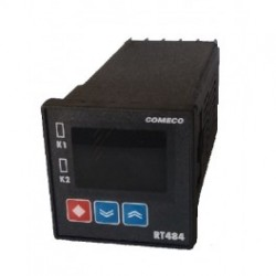 RT484 kontroller, 230AC, relee NO/NC, 0-10V, 96x96mm, IP65