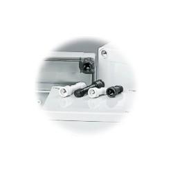 SS 14550L kaanekruvi, 10-13mm kaane jaoks, hall