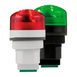 P40 A LED Пьезоэлектрический сирена со светодиодной подсветкой 48/240AC, 85dB, IP65