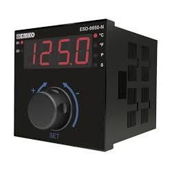 ESD-9950-N temperatuuri kontroller, 230AC, 1 x relee (7A), 1 x SSR 17VDC@0.01A, buzzer, IP65/20