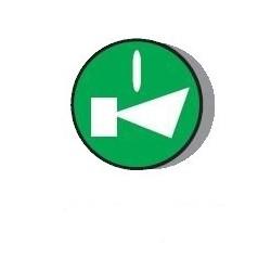 PL005002 surunupp, roheline, alarm