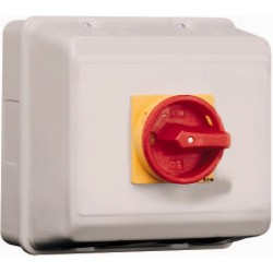P3-100/ST/SVB Main switch, 3 pole, 100 A, , Y/R, IP65