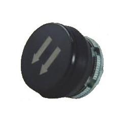 PL005028 surunupp, must, kaks noolt alla-vasakule