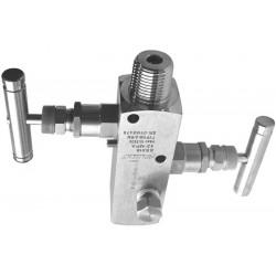 VM-2/R ventiiliplokk, roostevaba teras, sisend ½NPT, väljund ½NPT