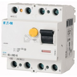 PHF7-25/4/003-G-DE Residual current devices PF7