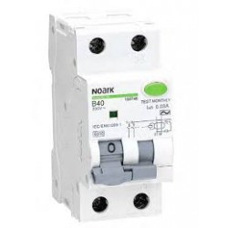Ex9CBL-N 1P+N C6 30mA Residual Current Breakers with Overload
