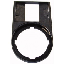 M22S-ST-X Label mount, without label, black