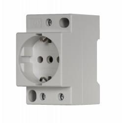 Z-SD230 Schuko socket, , DIN-, 16A