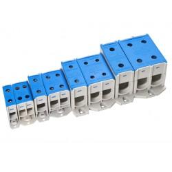 KL 4x35/1S klemm, 1,5-35mm² Al/Cu, sinine