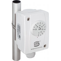 ALTR-7 pindkontaktne mehhaaniline temperatuurikontroller, 24-250AC, 0...+120C, 108x70x73,5mm, IP65