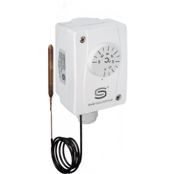 TR-50140-F mehhaaniline temperatuurikontroller, 24-250AC, +50...+140C, 108x70x73,5mm, IP65