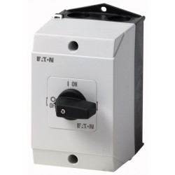 T0-1-102/I1 On-Off switch, 2 pole, 20 A