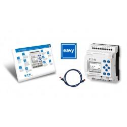 EASY-BOX-E4-UC1 stardipakett (EASY-E4-UC-12RC1 + kaabel + easySoft 7), 8 sisendit, 4 releeväljundit