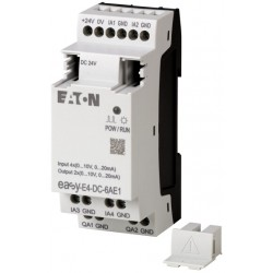 EASY-E4-DC-6AE1 laiendusmoodul 24VDC, 4 analogue inputs, 2 analogue outputs
