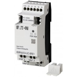 EASY-E4-UC-8RE1 laiendusmoodul 12/24VDC, 24VAC, 4 inputs, 4 relay outputs