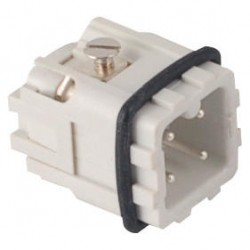 Fast disconnector, 4PIN, male, plug, 10A
