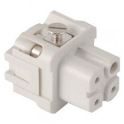 Fast disconnector, 4PIN, female, socket-outlet, 10A