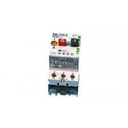 PKZM1-0.16 motor-protective circuit-breaker, 0,1...0,16A, with buttons