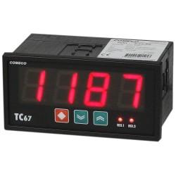 TC67U-H.Q Programmable Process Indicator