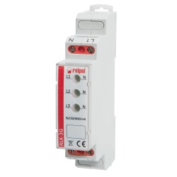 RLK-3G voltage indicator, 230-400AC, DIN, IP20