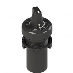 E6 potentsiomeeter, 10kΩ, musta rõngaga