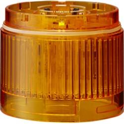 LED signal tower, Ø60mm, 24DC, LED Unit, Amber, IP65