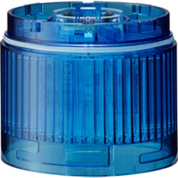 LED signal tower, Ø60mm, 24DC, LED unit, blue, IP65