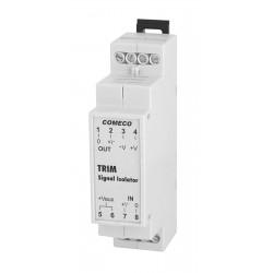 TRIM universal signal isolator, 12-24AC/DC, input 4-20mA, output 4-20mA, IP20