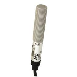C12P/00-3A mahtuvusandur, 10-40DC, M12 plastikorpus, PNP/NPN, NO/NC, 2m juhe