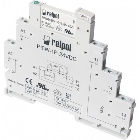 PIR6W-1P-24VAC/DC interface relay _ 6A