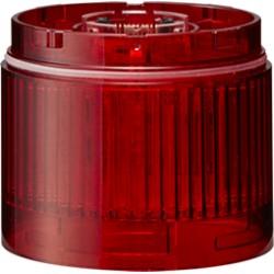 LR valgusmoodul, punane, 24DC, Ø70mm, pidev, IP65