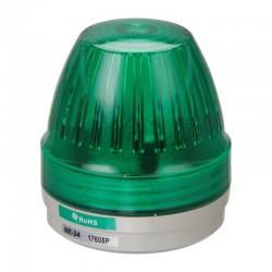 NE-24-G signal light, 24DC, Ø57mm, green, continuous, IP65