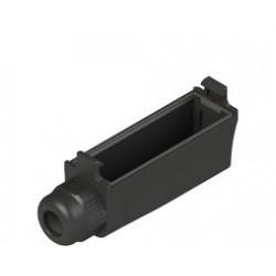 VF MKCV12 mikrolüliti klemmide kate, IP65, kaabli Ø 4-7,5mm