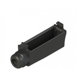 VF MKCV12 protection terminal cover for screw terminals with wire trap cable gland, IP40, for cable Ø 4-7,5mm