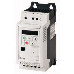 DC1-122D3FN-A20CE1 variable frequency drive, 0.37kW, 2.3A, 1F/3F ~230V, IP20