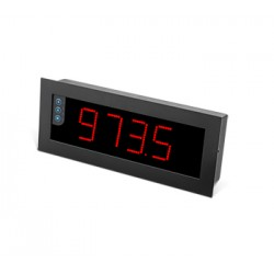 B24-CR-H-R-R1-0 protsessi indikaator, 4-kohaline ekraan, 85-265AC/11-36DC, 135x340mm, IP65