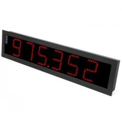 B46-CR-H-R-R1-0-0 protsessi indikaator, 6-kohaline ekraan, 85-265AC/120-370DC, 166x740mm, IP65