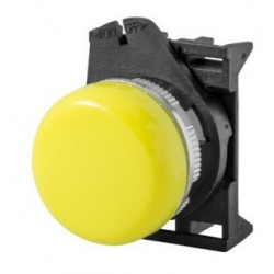 PLSL3 kollane signaallamp, valgustuseta, madala kattega