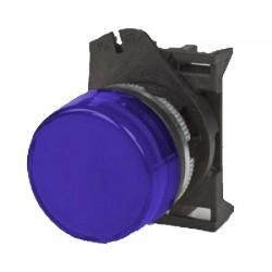 PLSL4 sinine signaallamp, valgustuseta, madala kattega