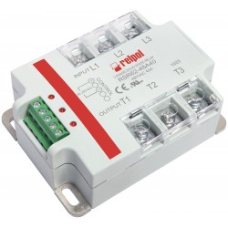 RSR62-48A40 solid state relay, 3-phase, input 90-280AC, output 24-530AC, 40A