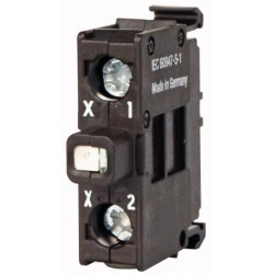 M22-LEDC-B Light element, LED, blue 12-30AC/DC,