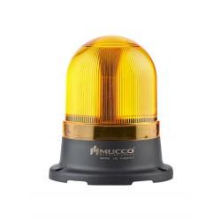 SNT signal beacon, amber, 40-260AC/DC, Ø70mm, flashing, IP65