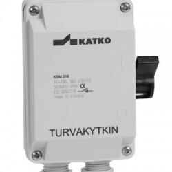 KSM 316 Safety switch _ 3 pole_ 103x128x55mm_ 16A_ 7,5kW_ IP67
