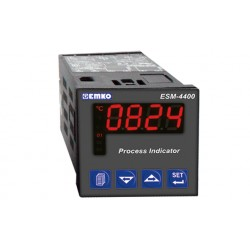 ESM-4400 protsessi indikaator_ 100-240AC_ ON/OFF_ 1 x relee (5A) / 1 x relee (3A) / 1 x 4-20mA_ RS-232 ModBus_ IP65/20