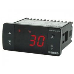 ESM-3712-HCN temperatuurikontroller_ 230AC_ ON/OFF_ küte või jahutus_ 1 x relee (16A)_ alarmi väljund 5A_ -50C...+400C_ buzze