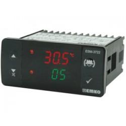 ESM-3722 niiskuse- ja temperatuurikontroller_ 230AC_ ON/OFF või PID_ PMI-P andur_ 3 x relee (3A) + 1 x relee (5A)_ -20C...+80C_