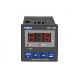 ESM-4410 temperatuurikontroller_ 24AC/DC_ ON/OFF_ küte või jahutus_ 1 x relee (7A)_ PTC-1000_ -50C...+150C_ IP65/20